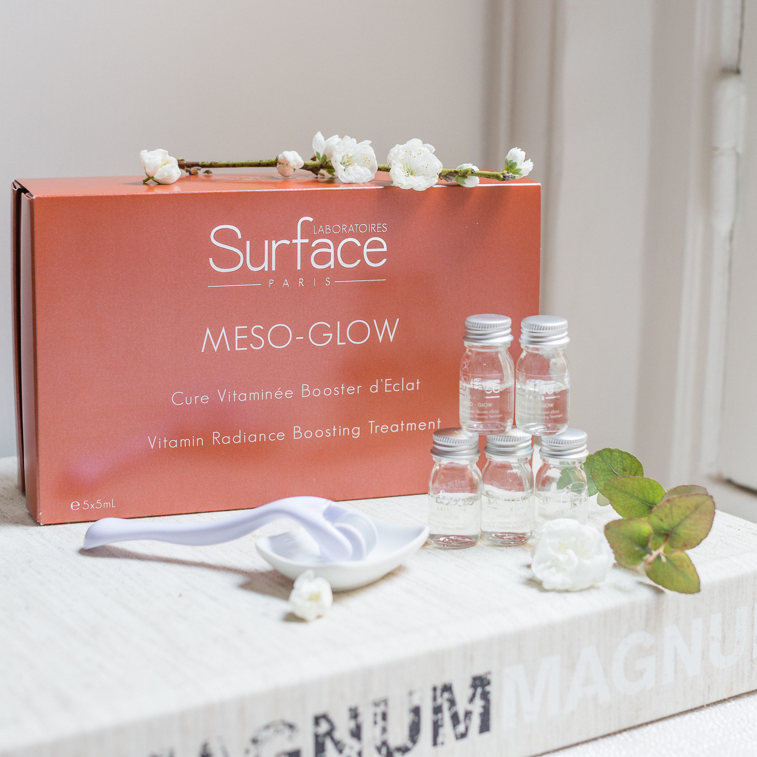 Surface Paris At Home Mesotherapy Dermaroller Meso Glow