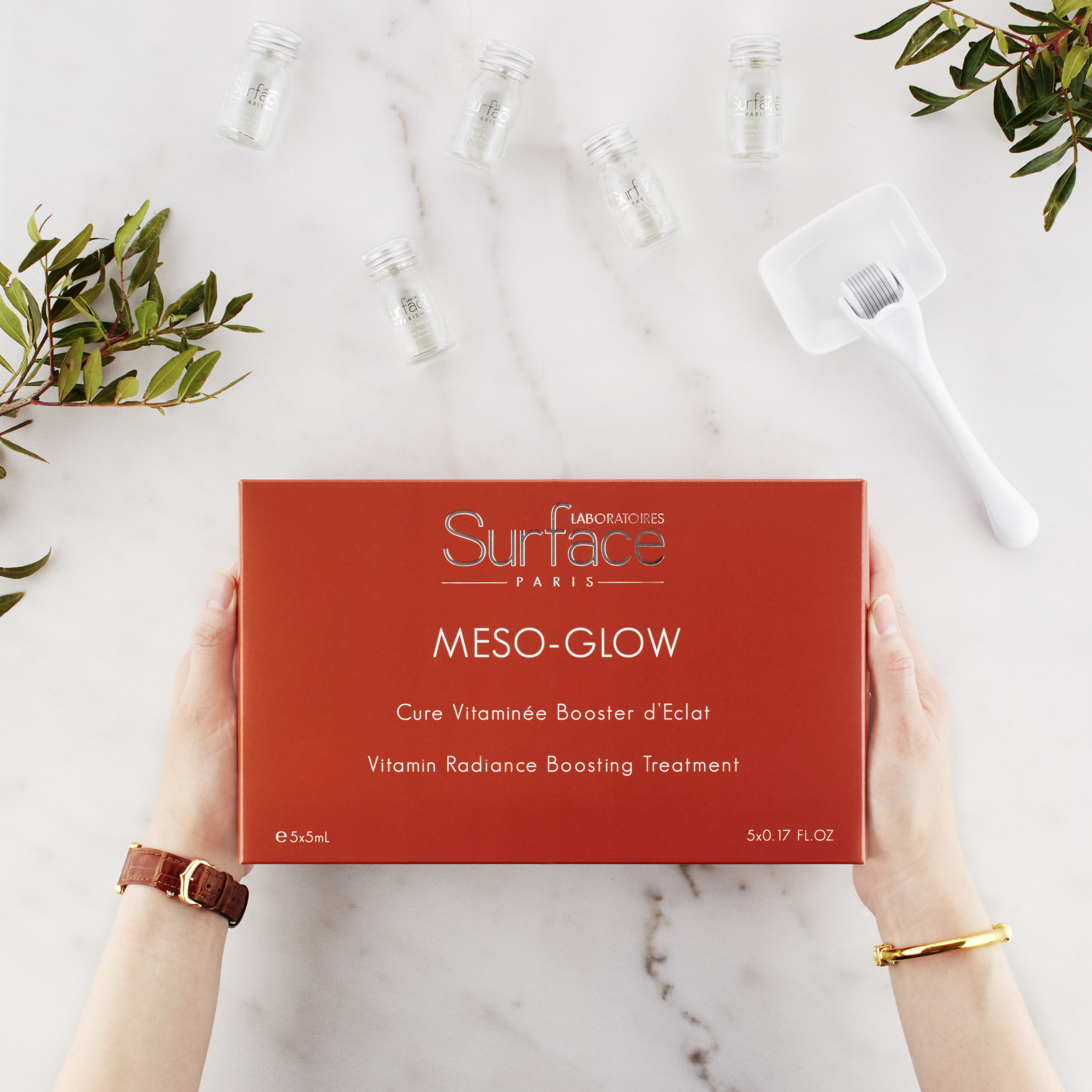 Meso Glow Surface Paris At-Home Mesotherapy Treatment