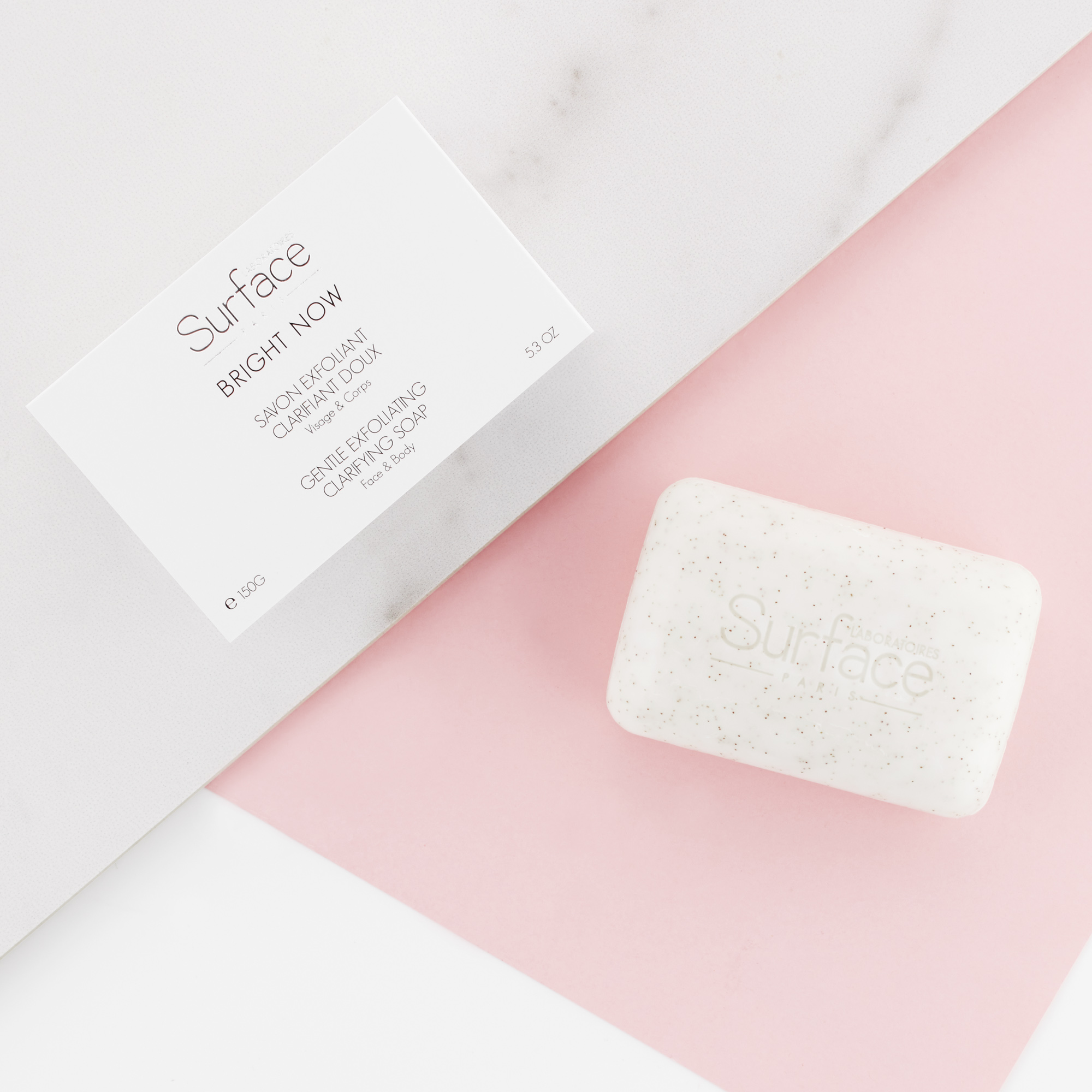 Surface Paris Gentle Exfoliating Clarifying Soap