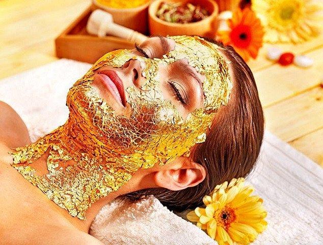 24 Carat Gold Mask