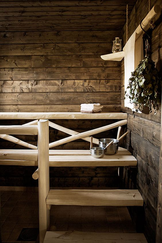 Finlande sauna bien être