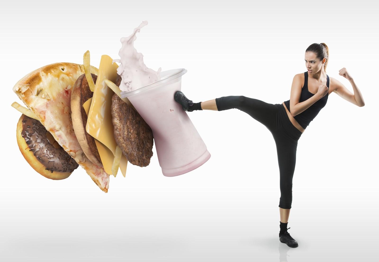 Fight fat foods